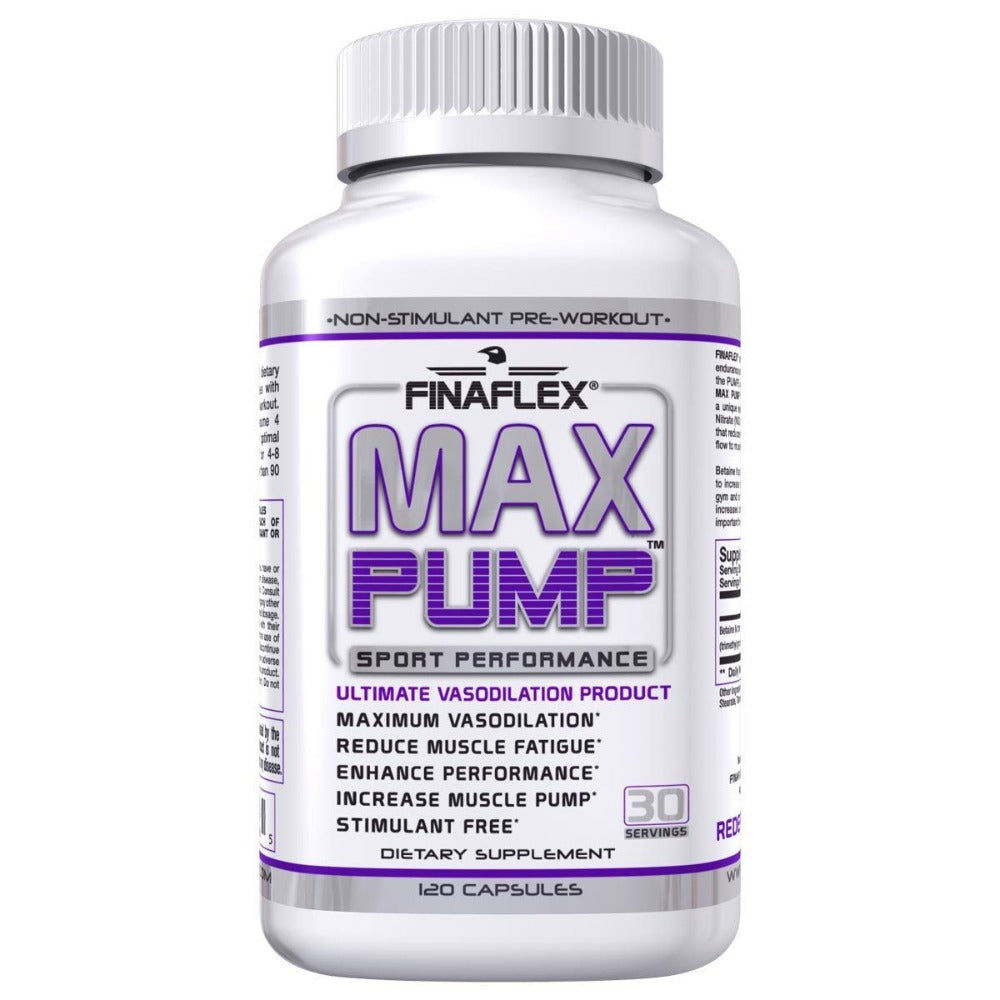 Finaflex (redefine Nutrition) Max Pump 120 Caps Pre-workout Finaflex (redefine Nutrition)  (1058874359851)