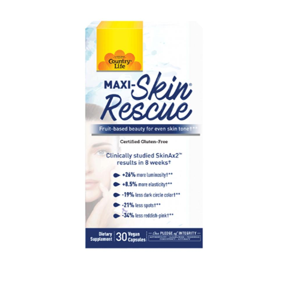 Country Life Maxi-Skin Rescue 30 Servings Specialty Health Products Country Life  (4432654008385)