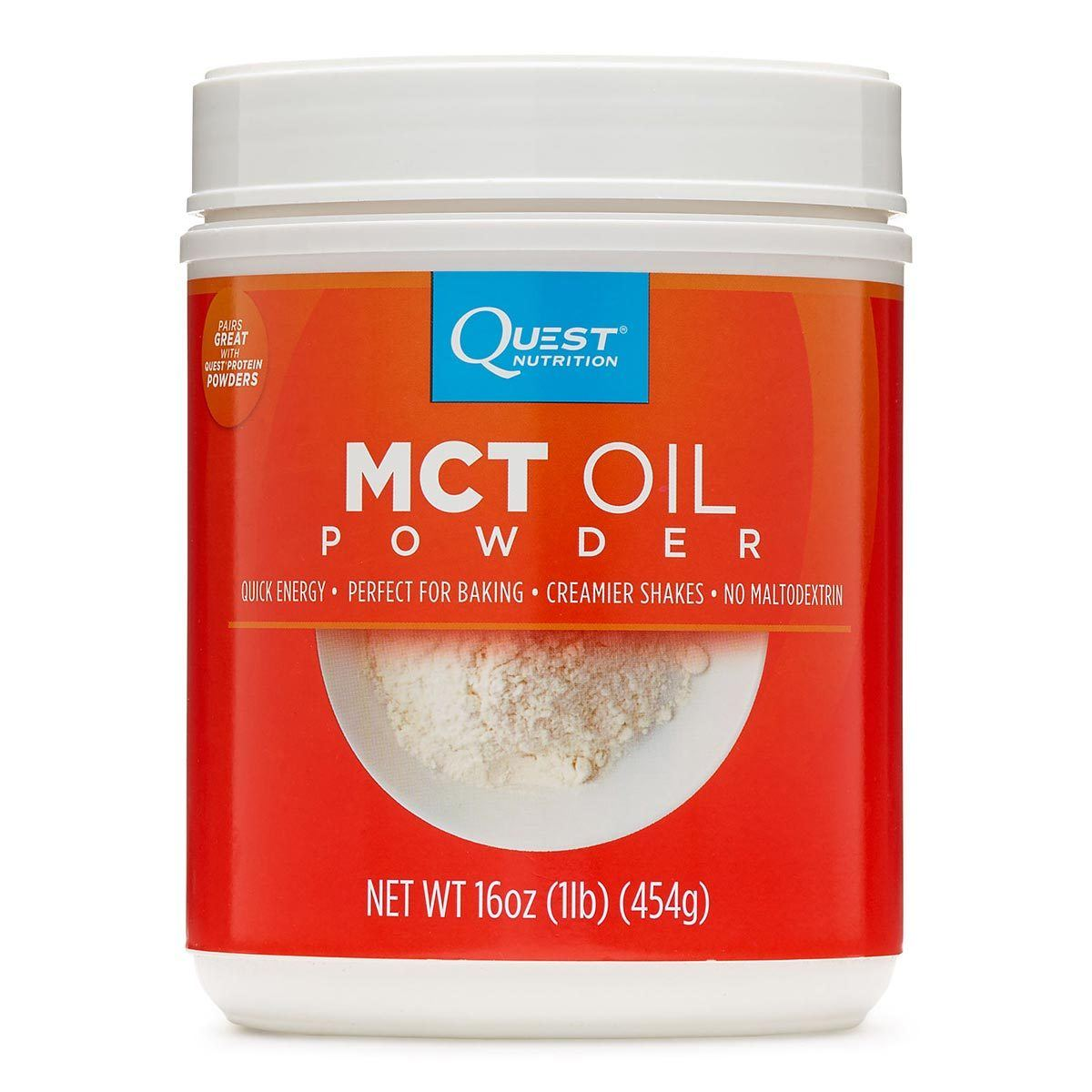 Quest Nutrition MCT Oil Powder 16oz Omega Fatty Acids / EFAs Quest Nutrition  (1059310043179)