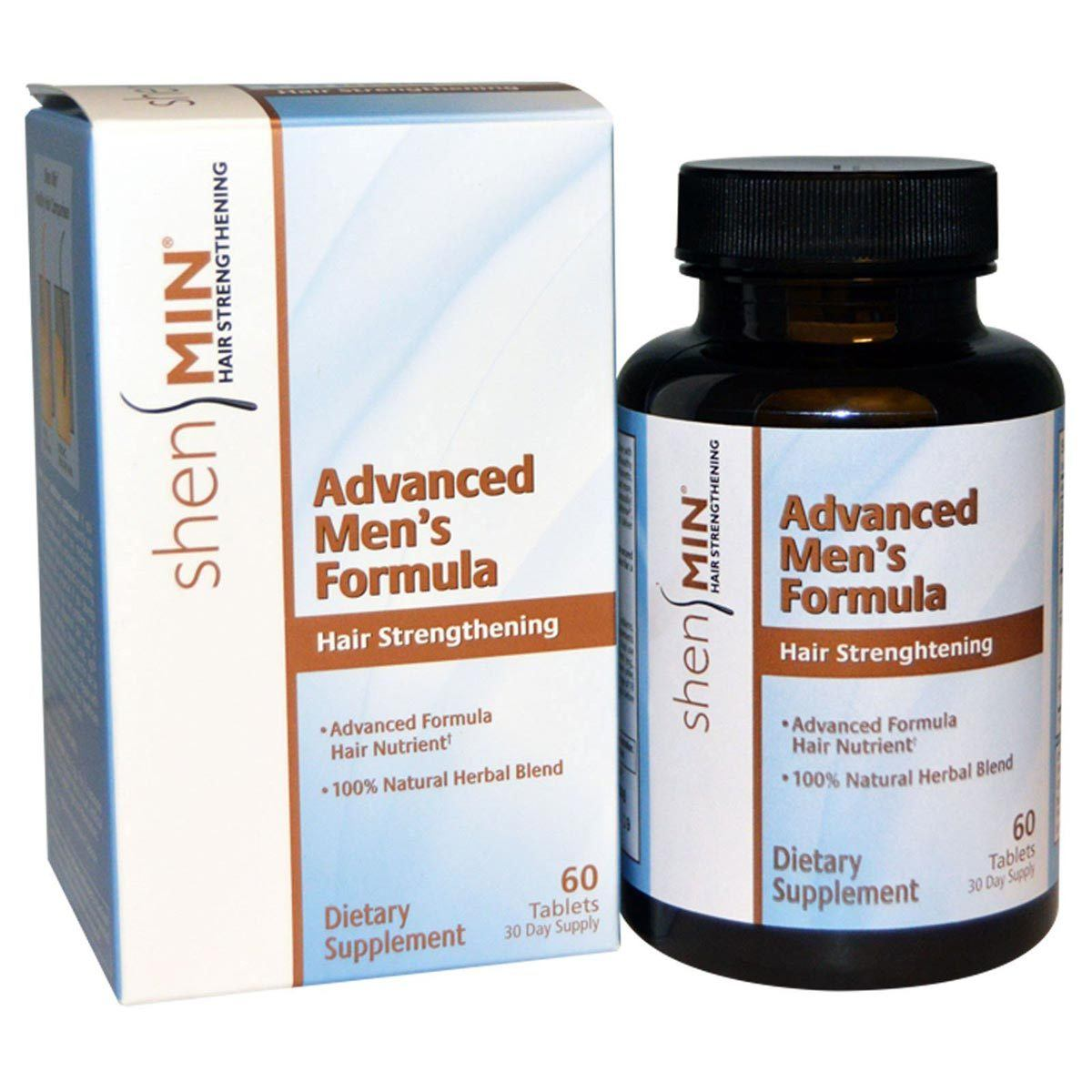 Biotech Shen Min Advanced Hair Formula for Men 60 Tabs Personal Care Biotech  (1057912291371)