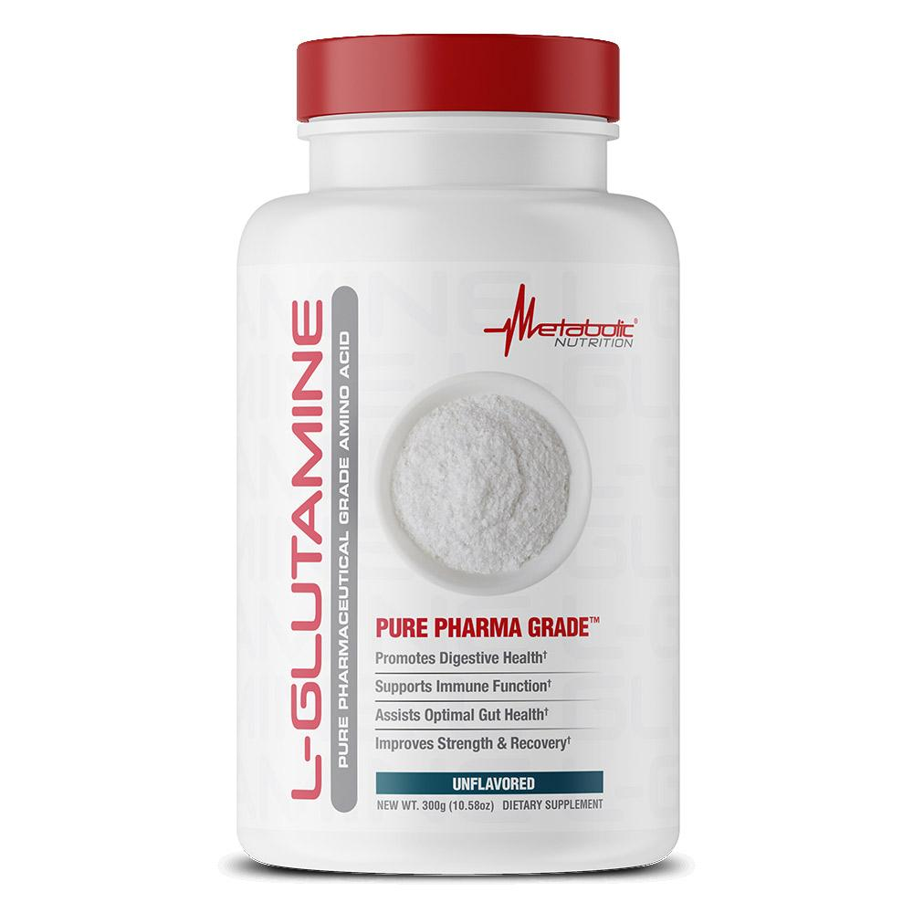 Metabolic Nutrition L-Glutamine 300g Amino Acids Metabolic Nutrition  (1830714540075)