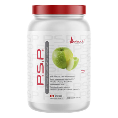 Metabolic Nutrition PSP 672g Nitric Oxide Metabolic Nutrition Green Apple  (4612006019137)