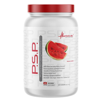Metabolic Nutrition PSP 672g Nitric Oxide Metabolic Nutrition Watermelon  (4612006019137)