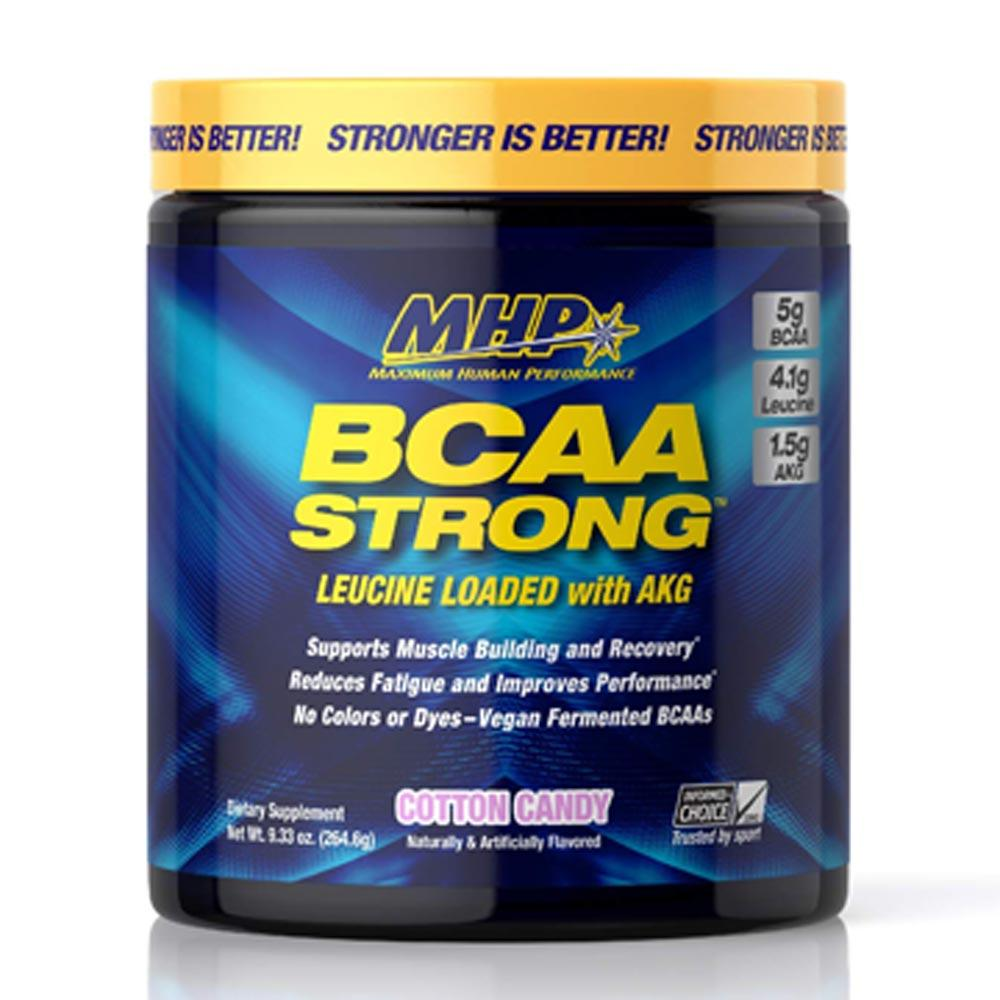 MHP BCAA Strong 30 Servings Amino Acids MHP Cotton Candy  (1736006795307)