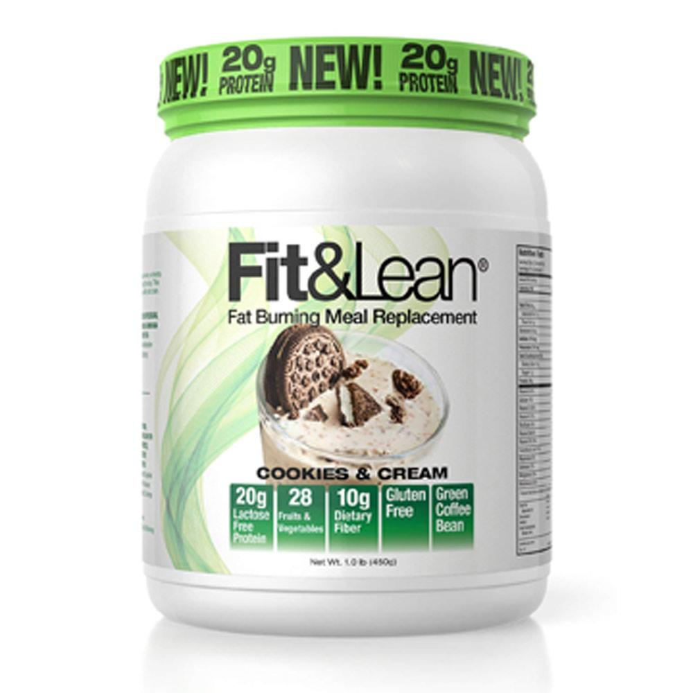 MHP Fit and Lean 10 Servings Meal Replacement Powders MHP Cookies and Cream  (1736086388779)