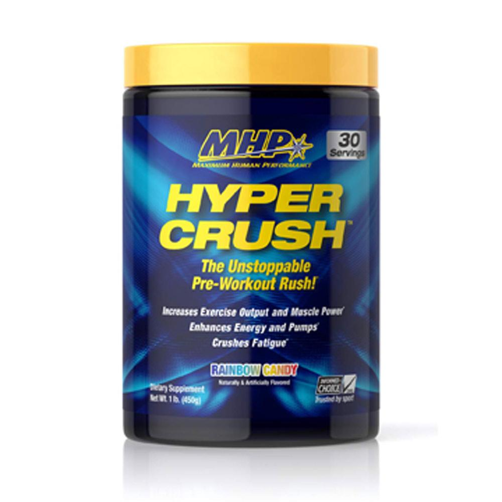 MHP Hyper Crush 30 Servings Sports Performance Recovery MHP Rainbow Candy  (1736003944491)