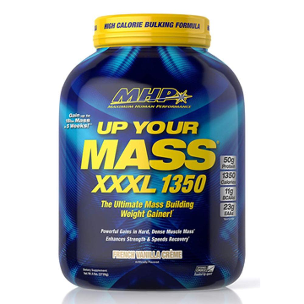MHP Up Your Mass XXXL 1350 6.8lbs Protein Powders MHP French Vanilla Creme  (1735994409003)