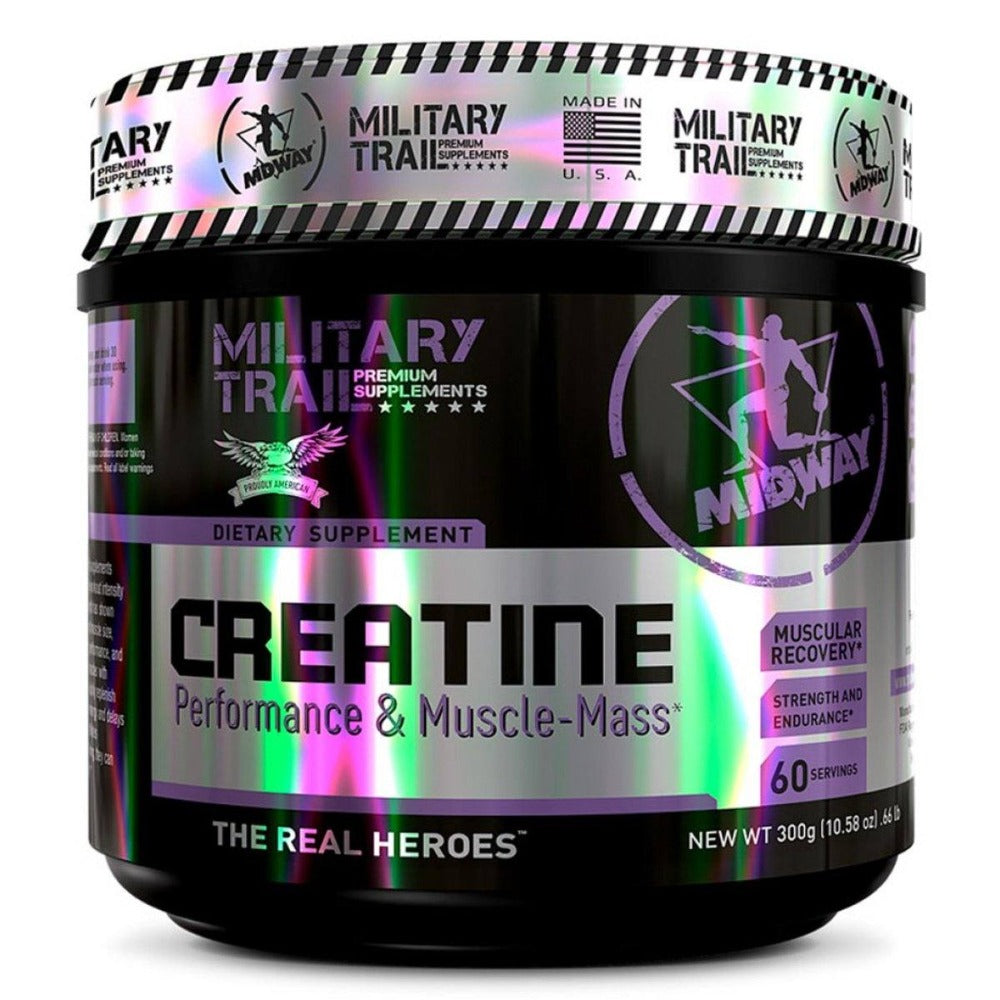 MILITARY TRAIL CREATINE 60 SERVINGS Sport Performance / Recovery Military Trail  (1205102837803)