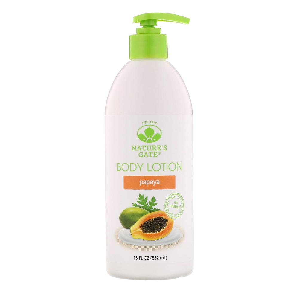Nature's Gate Moisturizing Papaya Lotion 18oz | Body Lotion Personal Care& - Hygeine Nature's Gate  (1795309764651)