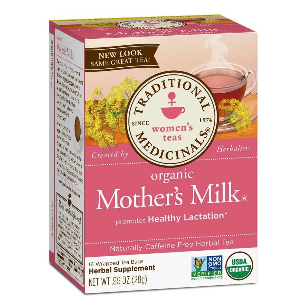 Traditional Medicinals Mother's Milk Tea 16 Bags | Healthy Lactation Teas Traditional Medicinals  (1780168818731)