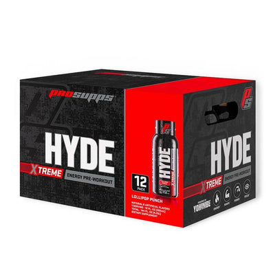 Pro Supps Hyde Extreme RTD 12/Case Drinks Pro Supps Lollipop Punch