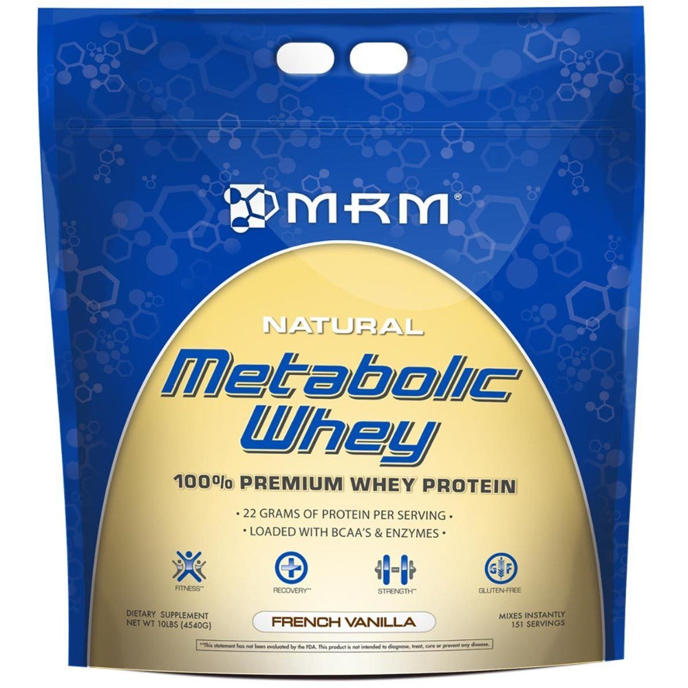 MRM Metabolic Whey 10 Lbs Protein MRM  (1058189443115)