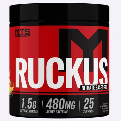 MTS Nutrition Ruckus 25/Sv Pre-Workouts MTS Nutrition Pineapple  (4529658232897)