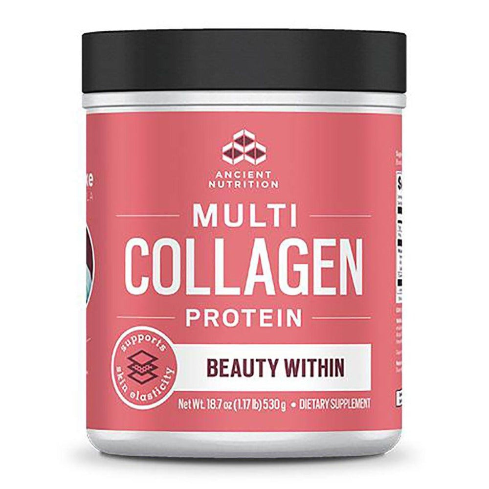 Dr. Axe Multi Collagen Beauty Within Protein 1lbs Protein Powders Ancient Nutrition  (1531854159915)