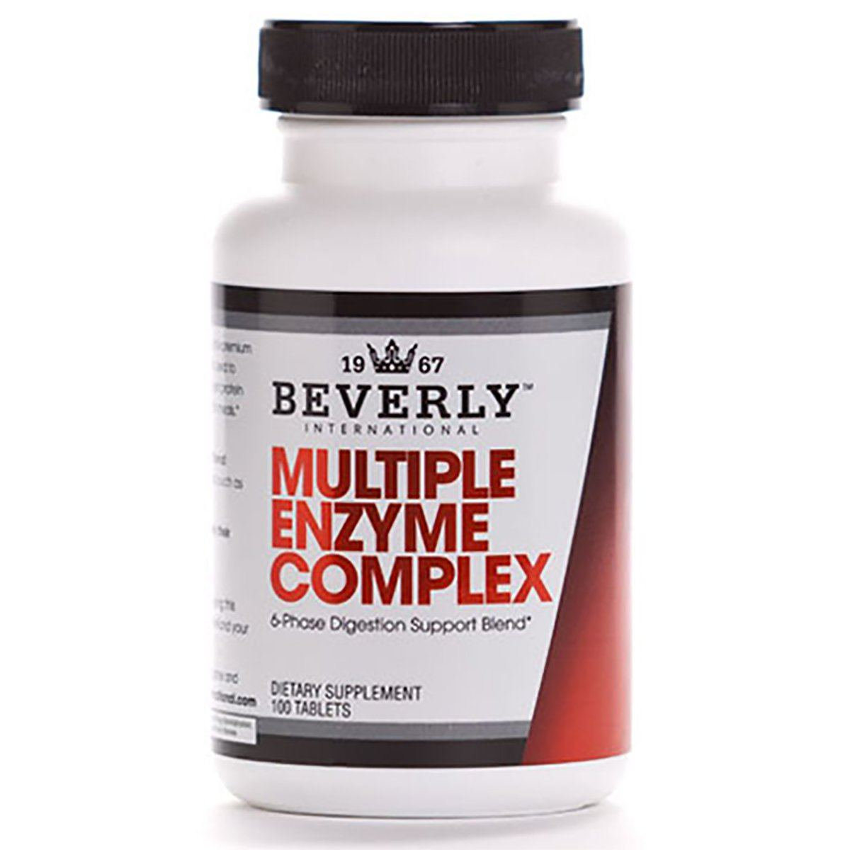Beverly International Multi Enzymes 100 Tabs Digestive Health / Probiotics Beverly International  (1058028716075)