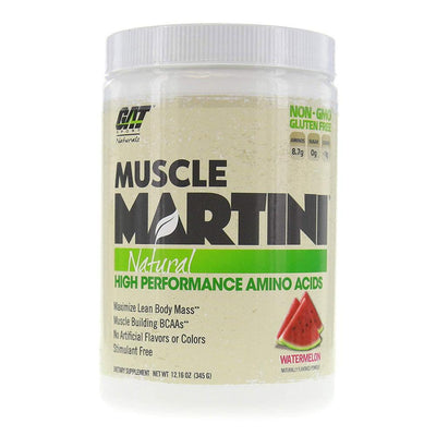 GAT Sport Muscle Martini 30 ServingsNatural High Performance Amino Acids Amino Acids GAT Watermelon  (1812371111979)