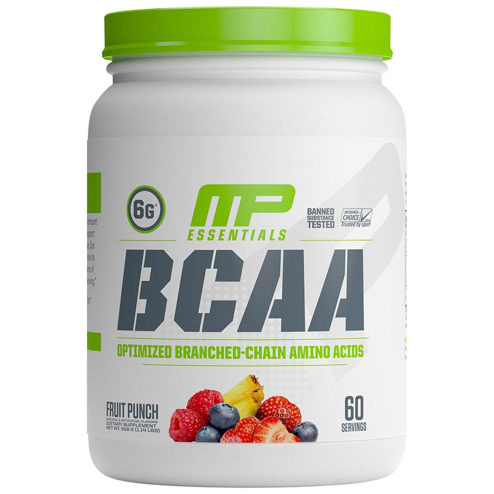 MP BCAA 60 Servings Fruit Punch Amino Acids Muscle Pharm  (1691659370539)