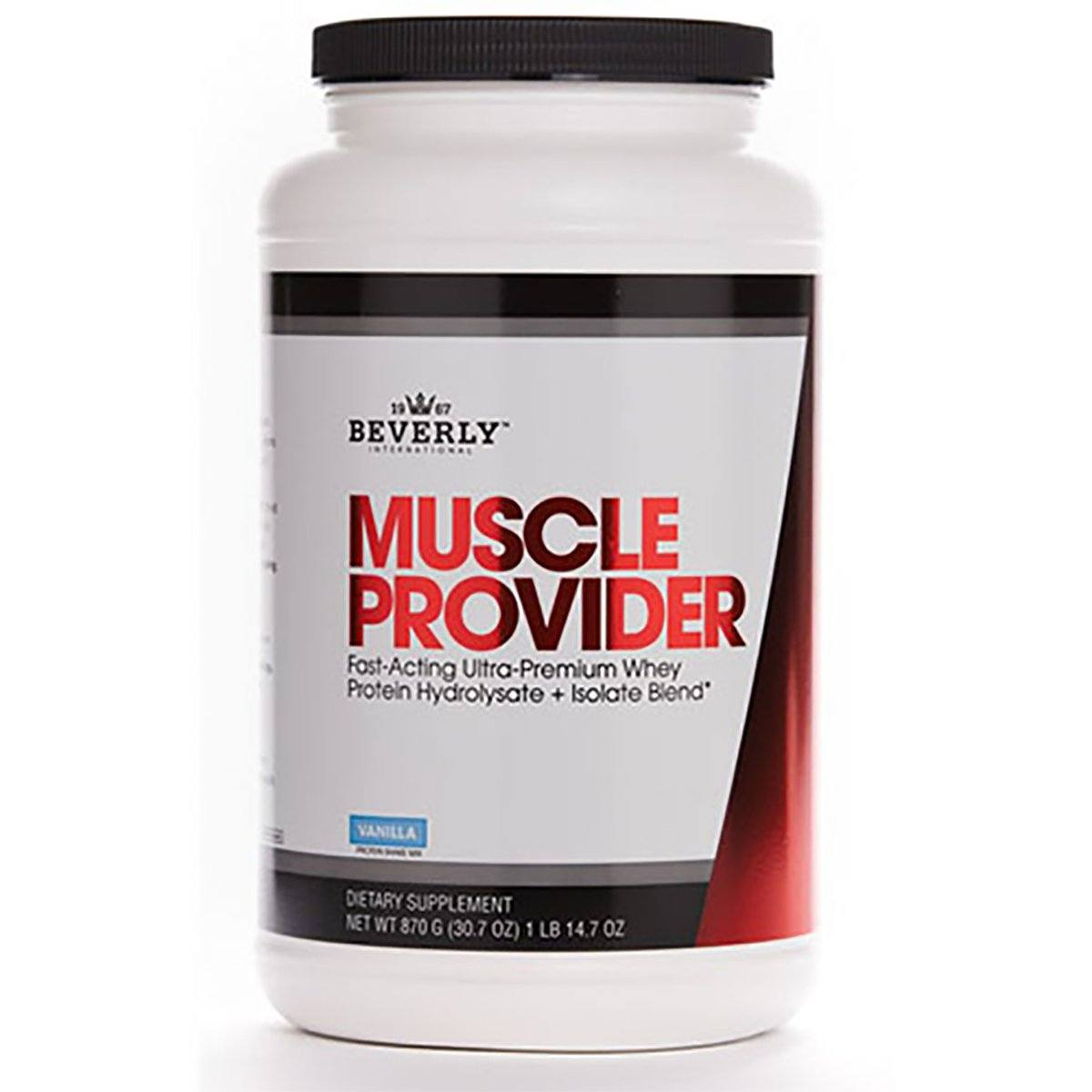 Beverly International Muscle Provider 1lb Protein Beverly International  (1057944731691)