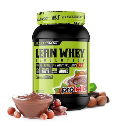 Muscle Sport Lean Whey Revolution 2lb Protein Powders Muscle Sport Protella  (4384302760001)