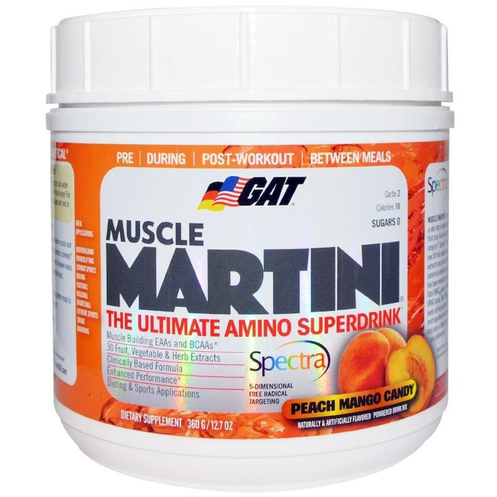 Muscle Martini Natural 30 Servings Amino Acids GAT  (1058875310123)