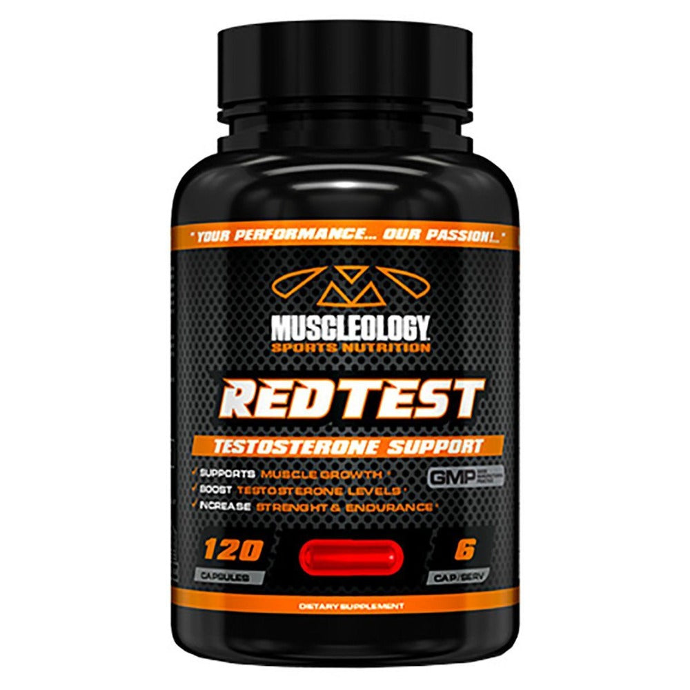 Muscleology Redtest Testosterone Boosters Muscleology  (1058469445675)