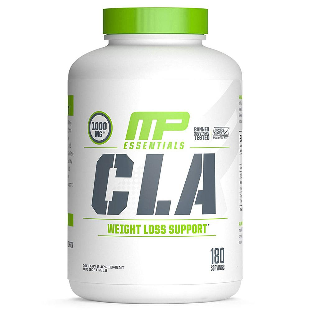 Muscle Pharm CLA Essentials 180 Caps Fat Burner Muscle Pharm  (1693540974635)