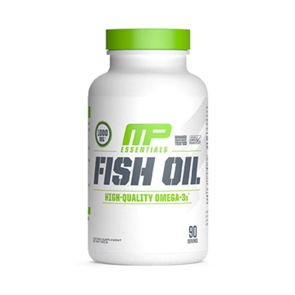 Muscle Pharm Fish Oil 90SG Essential Fatty Acids & - Oils Muscle Pharm  (1705303146539)