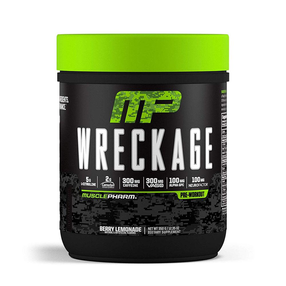 MusclePharm Wreckage 25 Servings Sports Performance Recovery Muscle Pharm Berry Lemonade  (1699463692331)
