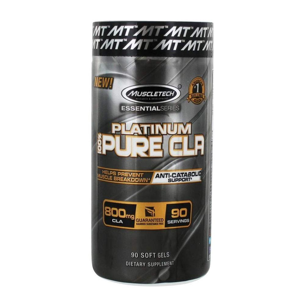 MuscleTech Platinum Pure CLA 90 Capsules Fat Burner MuscleTech  (4378168295489)