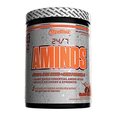 MyoBlox 24/7 Aminos 30/sv Amino Acids MyoBlox Blood Orange  (4603724234817)
