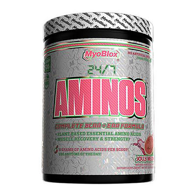 MyoBlox 24/7 Aminos 30/sv Amino Acids MyoBlox Jolly Melon  (4603724234817)