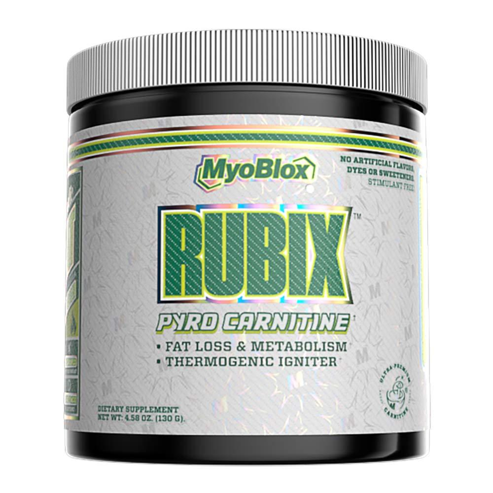 MyoBlox Rubix 40 Servings Fat Burner MyoBlox Pepino Limon  (4334035959873)