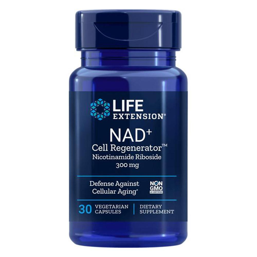 Life Extension NAD+ Cell Regenerator Nicotinamide Riboside 300mg 30VC Specialty Health Products Life Extension  (4340071530561)