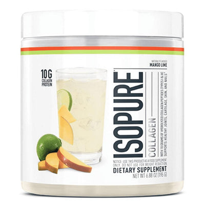 Nature's Best Isopure Collagen 15 Servings Unclassified Nature's Best Mango Lime  (4373953380417)