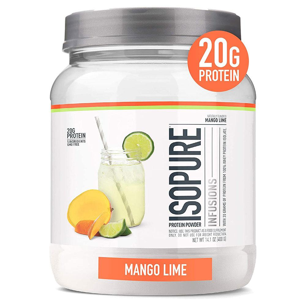 Isopure Infusions 16/sv Protein Powders Nature's Best Mango Lime  (4591589556289)