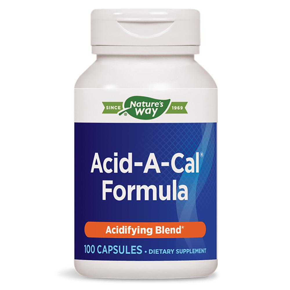 Nature's Way Acid-A-Cal 100 Caps (Previously Enzymatic Therapy) Digestive Health Nature's Way