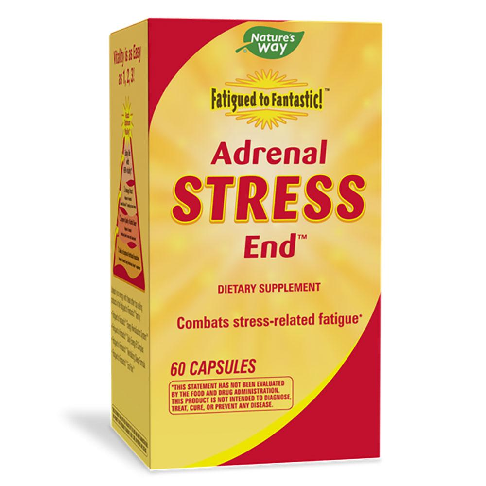 Nature's Way Adrenal Stress End 60 Capsules (Previously Enzymatic Therapy) Other Supplements Nature's Way