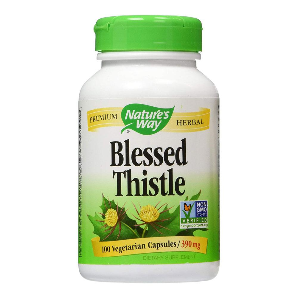 Nature's Way Blessed Thistle 100 Capsules Herbs Nature's Way