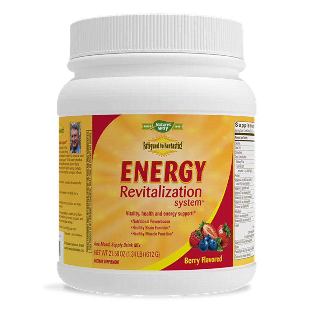 Nature's Way Energy Revitalization System Berry Splash (Prev. Enzymatic Therapy) Specialty Health Products Nature's Way