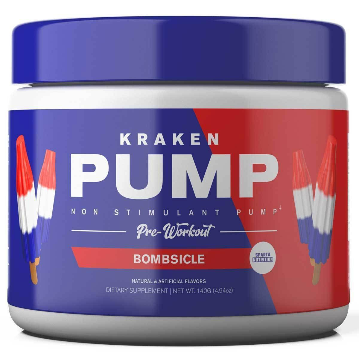 Sparta Nutrition Kraken Pump 40 Servings Pre-workout Sparta Nutrition bombsicle  (1059317612587)