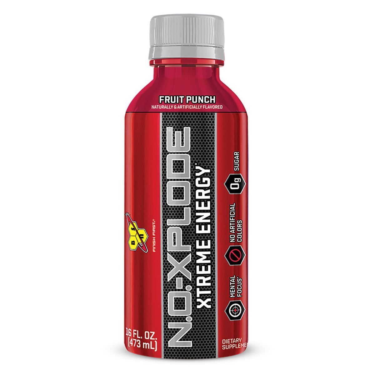 NO-Xplode RTD 12/Case Drinks BSN Fruit Punch  (1535705940011)