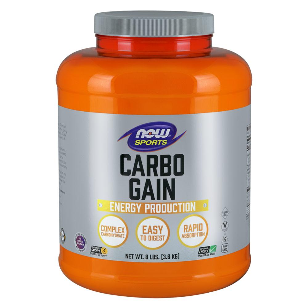 Now Foods Carbo Gain 8 lbs Sport Performance / Recovery Now Foods  (1058009841707)