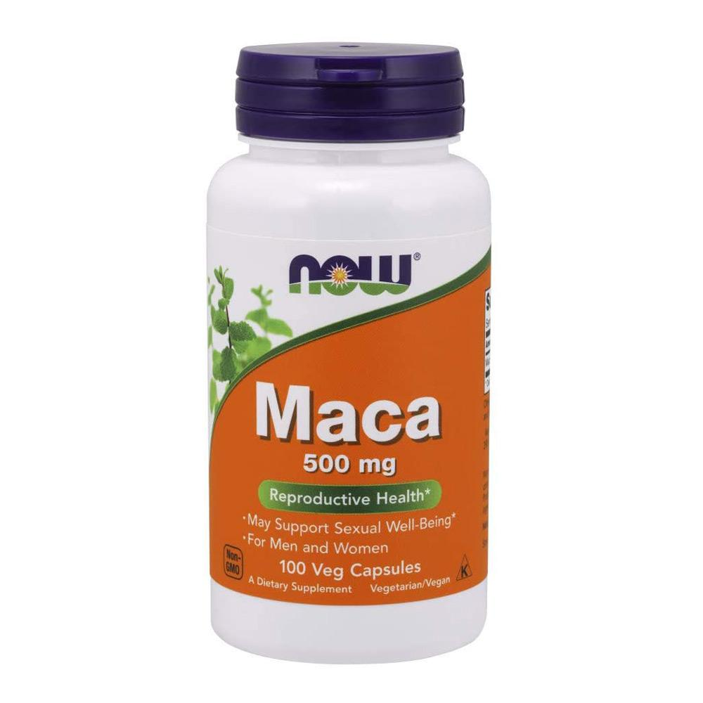 Now Foods Maca 500mg 100 Caps Herbs Now Foods  (1057914257451)