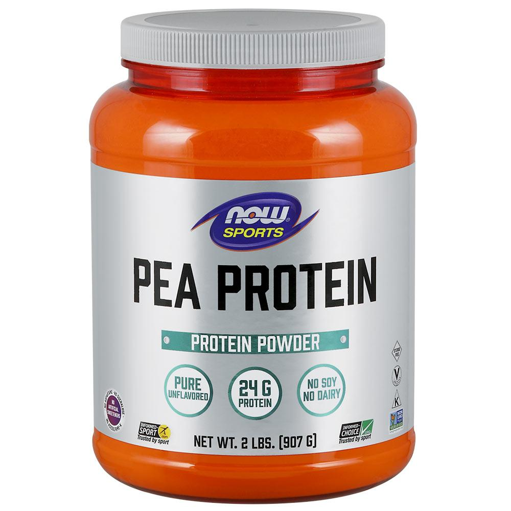 Now Foods Pea Protein Unflavored 2 Lbs Protein Now Foods  (1058801778731)