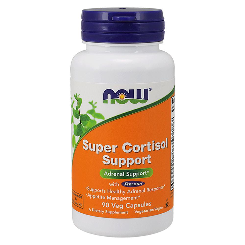 Now Foods Super Cortisol Support 90 Vegetable Capsules Herbs Now Foods  (1059135127595)