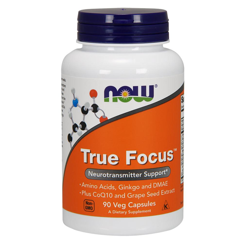 Now Foods True Focus 90 Vegetable Capsules Antioxidants / CoQ-10 Now Foods  (1059115073579)