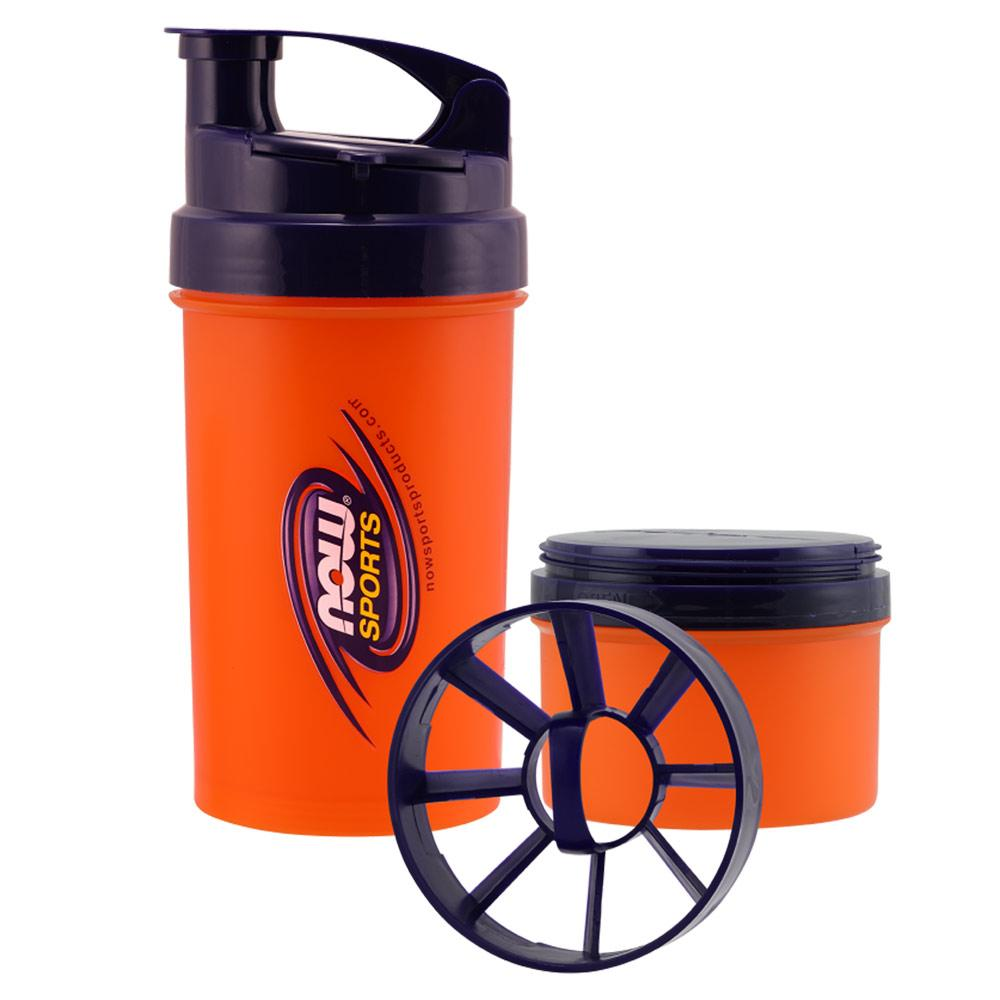 Now Foods Now 25 Oz 3-in-1 Sports Shaker Fitness Accessories and Apparel Now Foods  (1059143974955)