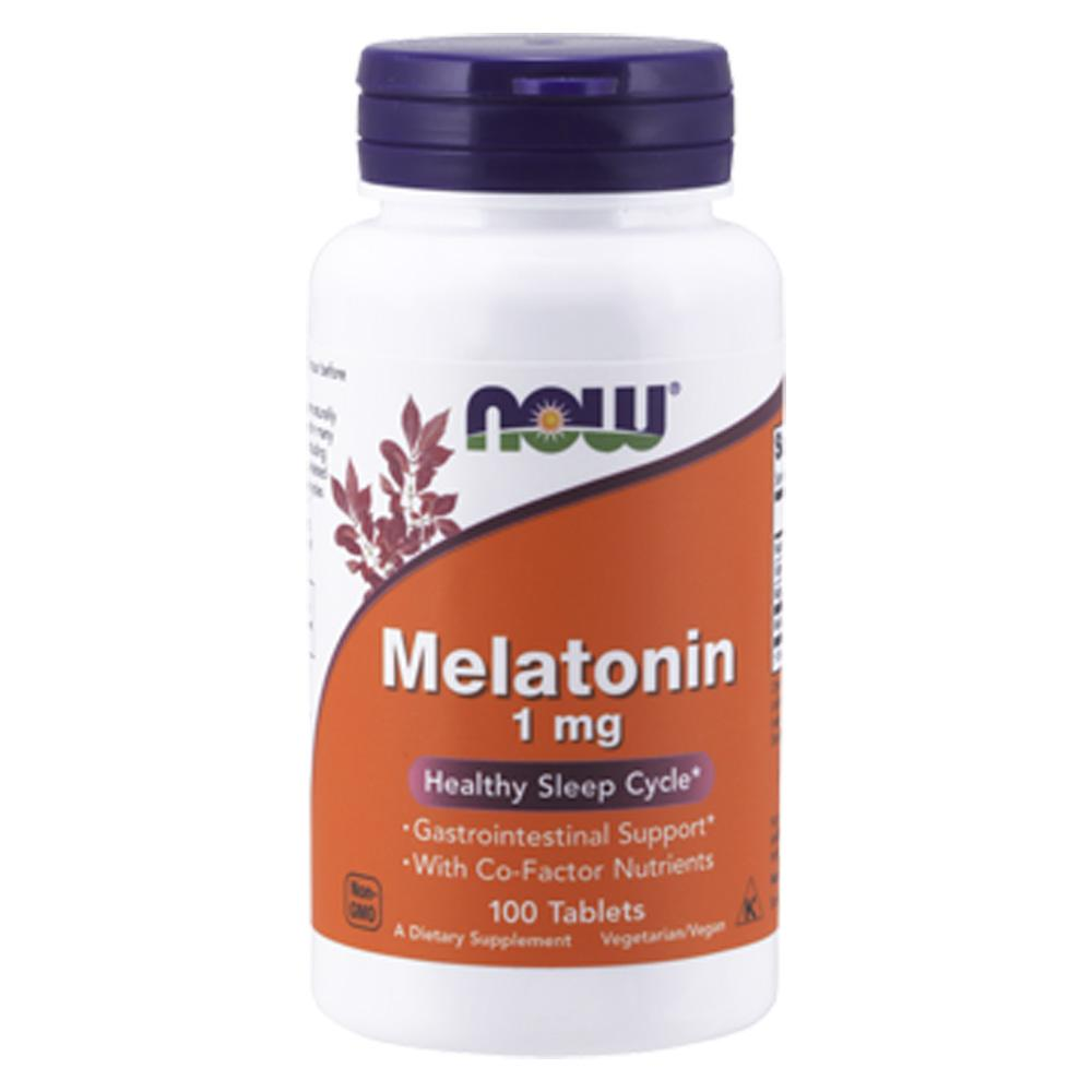 Now Foods Melatonin 1 Mg TR Complex 100 Tablets Sleep Aid Now Foods  (1059125002283)