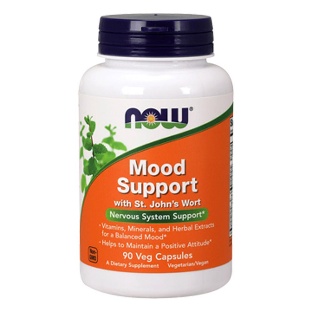 Now Foods Mood Support with St Johns Wort 90 Vegetable Capsules Personal Care Now Foods  (1059104161835)