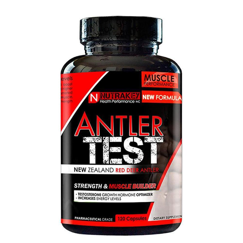 NutraKey Antler Test 120 Capsules Sports Performance Recovery Nutrakey  (4418668298305)